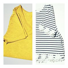 Cool tee and top for summer!