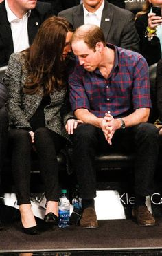 DOC, NYC, 12/8/14. So sweet Duchess Kate, she's is talking in a secret way same like me, all of us we have alot of secrets we don't love any body to hear.