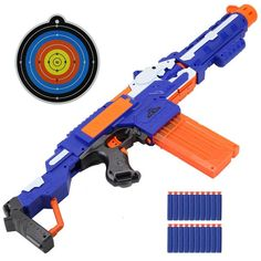For nerf darts Soft Hollow Hole Head bullets Refill Darts Toy Bullets Foam Safe Sucker Bullet for Nerf Toy Gun. Soft Hollow Hole Head Refill Darts Toy Gun Bullets Foam Safe Sucker Bullet for Nerf Series Blasters Xmas Kids. Arma Nerf, Pistola Nerf, Cool Nerf Guns, Nerf Darts, Nerf Toys, Cheap Toys, Submachine Gun, Kids Ride On, Toys For Boys