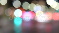 Video about Abstract lights - car traffic at night in blur. Video of glow, blur, colorful - 78134545