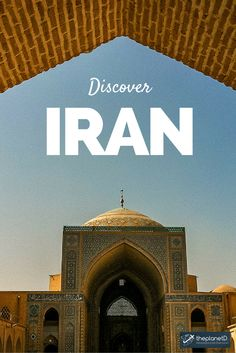 "The first question people asked me when I told them I was visiting Iran was ""why?"" The second was ""Is it safe to visit Iran? Let me tell you right from the start – yes, it is safe for Americans and women to visit Iran. (but bring your head scarf). Iran Travel, Asia Travel, Adventure Awaits, Adventure Travel, Visit Iran, Teheran, To Infinity And Beyond, Travel Posters, Middle East"