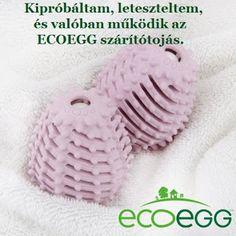 Mosható pelenkák és öko háztartás: Ecoegg szárítótojás - termékteszt