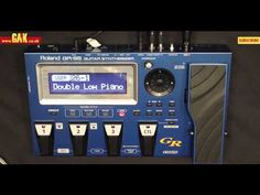 Roland GR-55 video review demo Guitarist Magazine HD - YouTube
