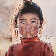 Child in Remote Area