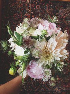 A + A's wedding! Bridal bouquet. Karma Flowers