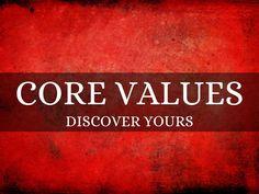 """Core Values"" - A Haiku Deck #setyourstoryfree"