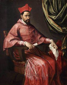 FACCHETTI, Pietro. Portrait of a Cardinal Oil on canvas (Private collection)