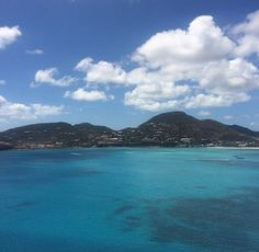 Picture I took of St. Maarten from the cruise ship April 2015