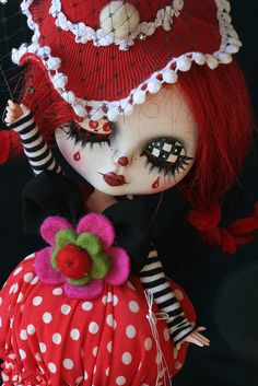 Isn't she just the sweetest clown?!! <3