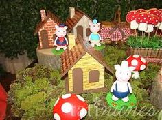 Resultado de imagem para festa infantil floresta