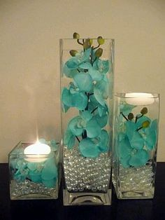 s Florales Turquesa