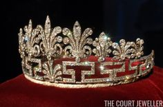 Princess Andrew's Meander Tiara (Photo: Chris Jackson PT/Getty Images )      The Top Ten: Meander Tiaras   When tiaras became popular in t...