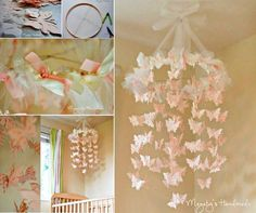 Butterfly-Chandelier-Mobile-wonderfuldiy