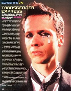 john cameron mitchell origin of love
