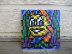 DISCOUNTED  Freddi Fish and Luther's Maze Madness by CuteBeadBows