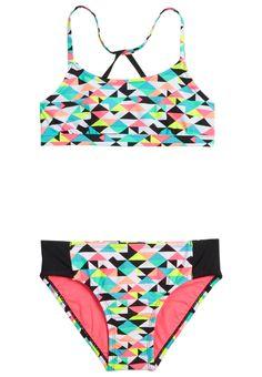 Reversible Geo Print Bikini Swimsuit