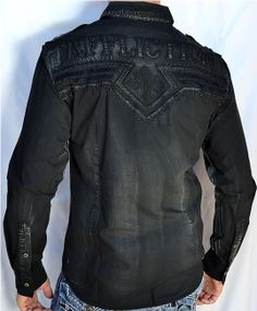 affliction button down shirts for men | Shippingand handling is FREE for continental U.S.A. ONLY, for ...