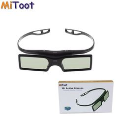 MiToot Active Shutter Bluetooth Glasses for Sony Samsung Panasonic Sharp TV Replace Sony, Bluetooth, 3d Tvs, Samsung Tvs, 3d Glasses, Shutters, Consumer Electronics, Free Shipping, Mobile Security