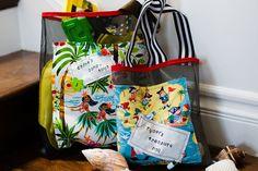very cool beach bag idea to make