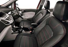 Ford Eco Sport exclusivamente en Facebook con una edición limitada de este coche que ira equipada con ruedas de aleación, remates en cuero y  nuevas tecnologías. por dentro