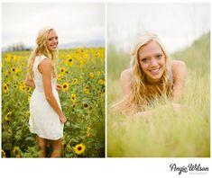 Sunflower Field Senior Photos | Maddie | Longmont » Angie Wilson ...