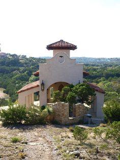 Chapel Dulcinea - Austin-area Venues - An open air wedding chapel on a hill