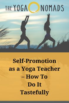 Self-Promotion as a Yoga Teacher – How To Do It Tastefully. Tips to consider as you implement self-promotion into your marketing strategy as a yoga teacher. Qi Gong, Bikram Yoga, Ashtanga Yoga, Yoga Sequences, Yoga Poses, Yoga Nature, Workshop, Yoga Breathing, Journey