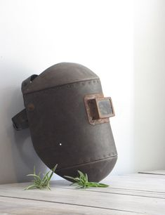 vintage industrial welders mask by wretchedshekels on Etsy, $92.00  makes me want to weld.