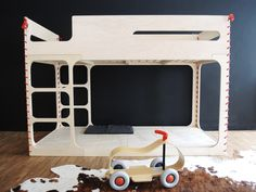 FLORAintheSKY_Loft bed or bunk bed - perludi * children´s furniture
