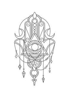 Best Ideas for tattoo mandala feminino desenho Doodle Tattoo, Mandala Tattoo, Hamsa Tattoo Design, Tattoo Designs, Body Art Tattoos, Small Tattoos, Yoga Tattoos, Flower Tattoos, Tatoos