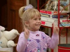 Which Fictional Characters Would Be Your Ghosts Of Christmas Past, Present, And Future?  You got: Michelle Tanner!