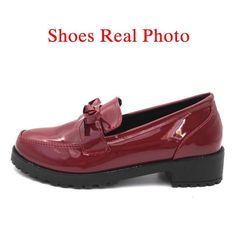 79e5455208150 E TOY WORD Patent Leather oxford shoes for women 2018 New Autumn Flats  Platform Shoes Butterfly-knot Ladies Brogue Shoes Woman