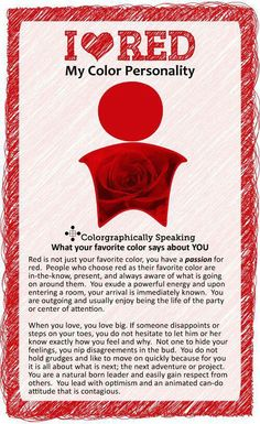 All of this is true for me, Red has always been and will always be my absolute life color❤️❤️