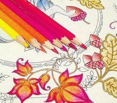 "Jardim secreto/floresta encantada | Join fb grown-up coloring group: ""I Like to Color! How 'Bout You?"" https://m.facebook.com/groups/1639475759652439/?ref=ts&fref=ts"