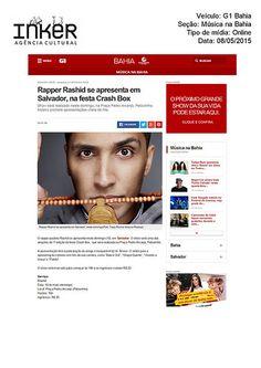 Rashid_G1 Bahia_Música na Bahia-Maio2015 | por Inker Agência
