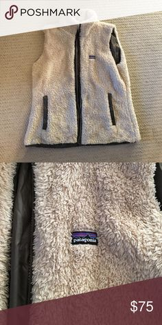 Furry Patagonia vest Super soft and warm furry Patagonia vest Patagonia Jackets & Coats Vests