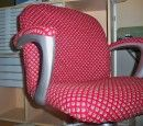 Here I'll show you how to make a chair slipcover to cover computer chair for a complete furniture makeover! Easily cover chair to revive and reuse it!