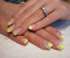 My Dream Nails: Keltaiset kevätkynnet