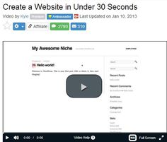 30 second website http://goodincomeaffiliate.com/how-to-make-money-online-for-a-beginner