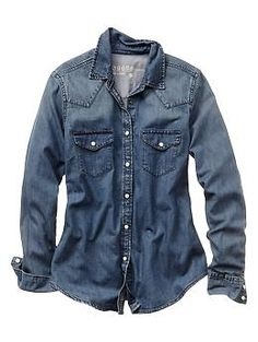 1969 western denim shirt | Gap