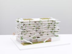 Gallery of NL*A Reveals Plans for Open-Concept Green Office Building in France…