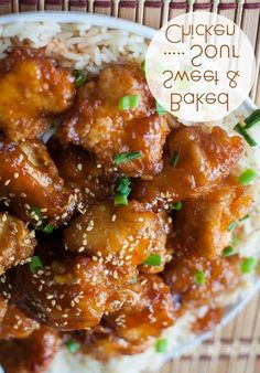 Baked Sweet and Sour Chicken - Love with recipe