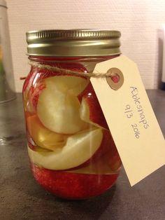 Æblesnaps lavet på vodka. Step 4