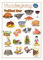 Thanksgiving (I) worksheet - Free ESL printable worksheets made by teachers