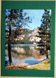 Fotokarte--Bergsee-Korsika