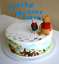 Pooh and Friends Cake by CakeSuite, Westport CT