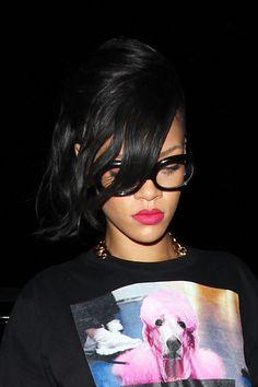d42a9aa7cbc Rihanna Is Loving Nerdy Glasses Trend. It s no secret