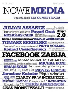 """W wysylkowej Operonu jest juz trzecie wydanie kwartalnika opinii """"Nowe Media"""""""