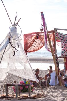 Suiderzon festival. hindi&Bindi Events en Styling Bohemian style