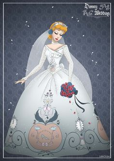 Cinderella - Disney Wedding Princess designer by GFantasy92 on DeviantArt